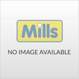 Dymo Rhino White Vinyl Tape 12mm - Black Text S0718600 (18444)