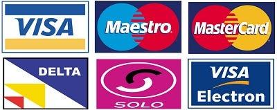 Maestro MasterCard Solo Visa
